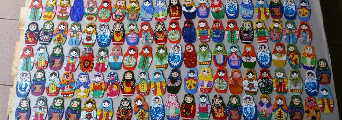 Матрешки из Калининграда