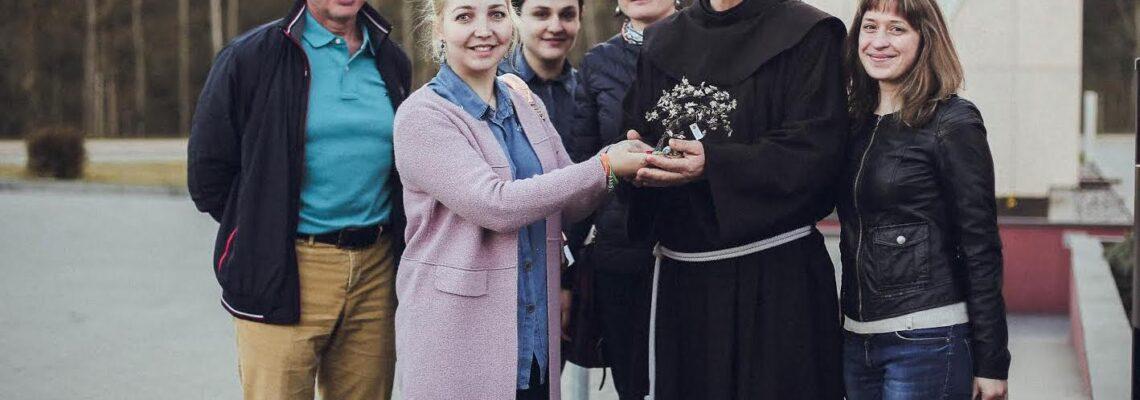 Поездка в Клайпедский монастырь святого Франциска Ассизского