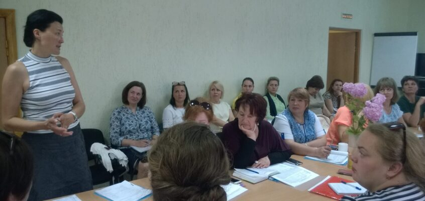 Informational meeting at the Kaliningrad Child and Family resource centre